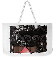 Splash Of Black Weekender Tote Bag