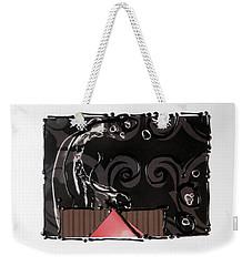 Splash Of Black Weekender Tote Bag