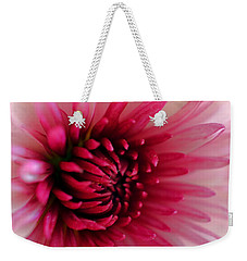 Splash Of Pink Weekender Tote Bag by Deb Halloran