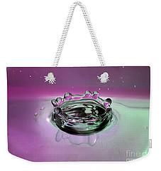 Splash Of Purple Weekender Tote Bag