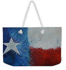 Splash Of Texas Weekender Tote Bag
