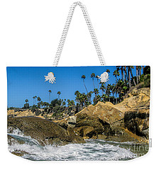 Splash Weekender Tote Bag by Tammy Espino