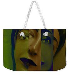 Bienvenido 1 Weekender Tote Bag by Linda Weinstock