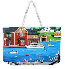 Splish 'n Splash Weekender Tote Bag by Wilfrido Limvalencia