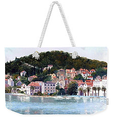 Split Harbour Croatia Weekender Tote Bag by Jan Matson