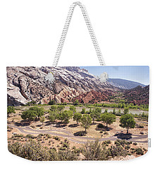 Split Mountain Campground Weekender Tote Bag