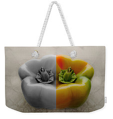 Split Pepper Weekender Tote Bag