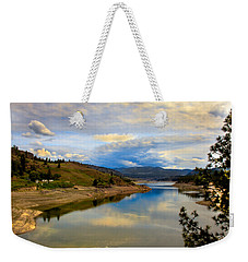 Spokane River Weekender Tote Bag by Robert Bales