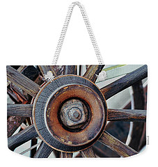Spokes And Hub Weekender Tote Bag