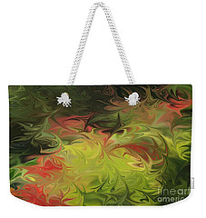 Weekender Tote Bag featuring the digital art Jardin De Picasso  by The Art of Alice Terrill