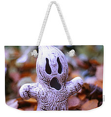 Weekender Tote Bag featuring the photograph Spooky Autumn by Aaron Aldrich