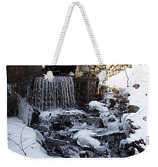 Weekender Tote Bag featuring the photograph Spot Brook by Robert Nickologianis