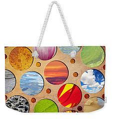 Spots Of Nature Weekender Tote Bag by Shawna Rowe
