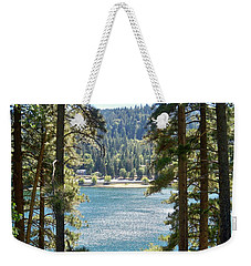 Spotted Lake - Scenic Photography - Lake Gregory California - Ai P. Nilson Weekender Tote Bag