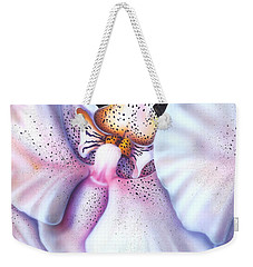 Spotted Orchid Weekender Tote Bag by Darren Robinson