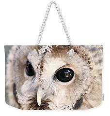 Spotted Owl Weekender Tote Bag