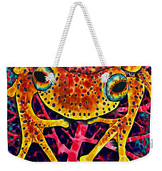 Spotted Tree Frog Weekender Tote Bag