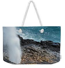 Spouting Horn Weekender Tote Bag by P S