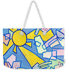 Summer In The City #2 Weekender Tote Bag by Jim Whalen