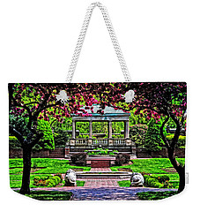 Spring At Lynch Park Weekender Tote Bag by Mike Martin