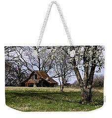 Weekender Tote Bag featuring the photograph Spring At The Farm In Tyler Tx by Betty Denise