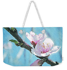 Weekender Tote Bag featuring the photograph Spring Blossom by Jocelyn Friis