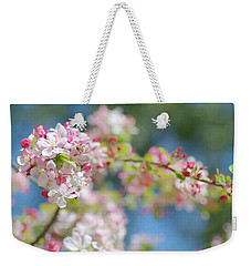 Spring Bouquet 2 Weekender Tote Bag by Fraida Gutovich