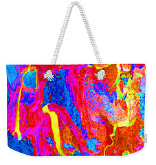 Spring Eucalypt Abstract 14 Weekender Tote Bag