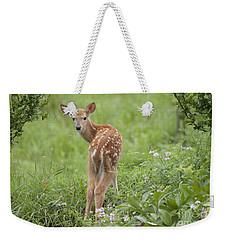 Spring Fawn Weekender Tote Bag