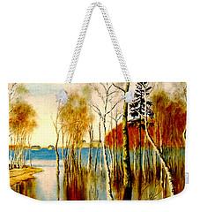 Spring Flood Weekender Tote Bag by Henryk Gorecki