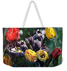 Spring Follows Winter Weekender Tote Bag