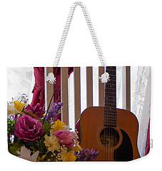 Spring Guitar Weekender Tote Bag