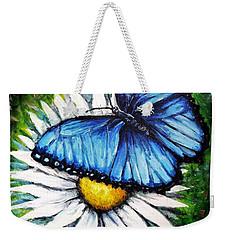 Weekender Tote Bag featuring the painting Spring Has Sprung by Shana Rowe Jackson