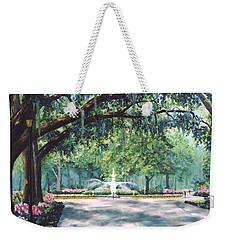 Spring In Forsythe Park Weekender Tote Bag