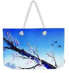 Spring In The Mountains Weekender Tote Bag by Irina Sztukowski