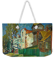 Spring In The Province Weekender Tote Bag