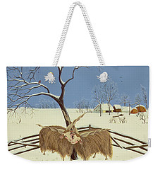Spring In Winter Weekender Tote Bag by Magdolna Ban
