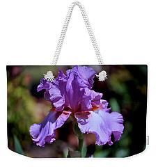 Spring Iris Bloom Weekender Tote Bag