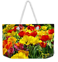 Weekender Tote Bag featuring the photograph Spring Is Coming by Nava Thompson