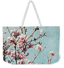 Pink Spring Blossoms Weekender Tote Bag
