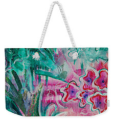 Weekender Tote Bag featuring the painting Spring by Jocelyn Friis