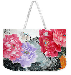 Spring Melody Weekender Tote Bag
