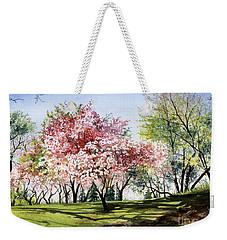 Spring Morning Weekender Tote Bag by Barbara Jewell