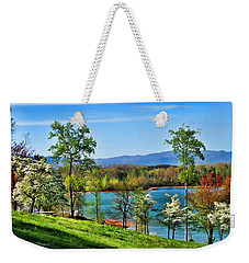 Spring On The Lake Weekender Tote Bag by Kenny Francis