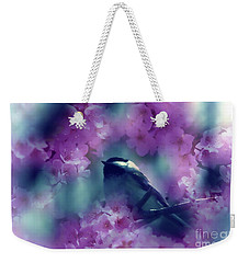 Spring Rhapsody Blossoms Weekender Tote Bag by Cathy  Beharriell