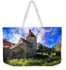 Spring Romance In The French Countryside Weekender Tote Bag by Debra and Dave Vanderlaan