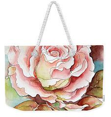 Spring Rose Weekender Tote Bag by Inese Poga