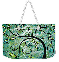 Spring Shine By Madart Weekender Tote Bag by Megan Duncanson