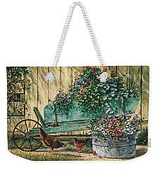 Spring Social Weekender Tote Bag