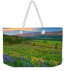 Spring Storm Passing Weekender Tote Bag
